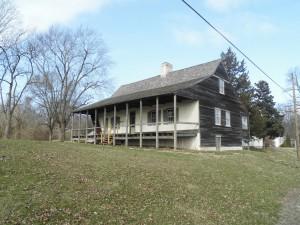 La maison Beauvais-Amoureux à Sainte-Geneviève (Missouri) construite en 1792