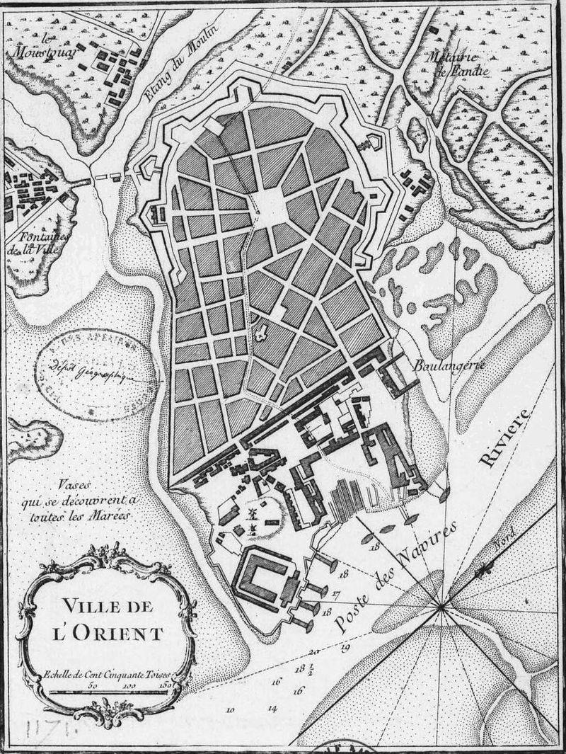 https://fr.wikipedia.org/wiki/Histoire_de_Lorient#/media/File:Jacques-Nicolas_Bellin_-_Carte_de_l%27Enclot_de_Lorient.jpg